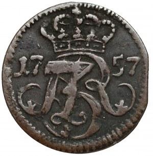August III Sas, Szeląg Gdańsk 1757