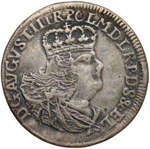 August III Sas, Szóstak Elbląg 1762 ICS - rzadki