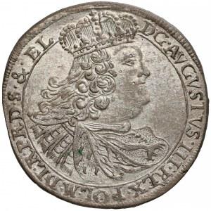 August III Sas, Ort Gdańsk 1759 CHS - rzadki i piękny