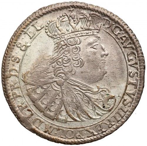 August III Sas, Ort Gdańsk 1760 REOE - gałązki nieskrzyżowane - rzadki