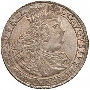 August III Sas, Ort Gdańsk 1760 REOE - gałązki skrzyżowane