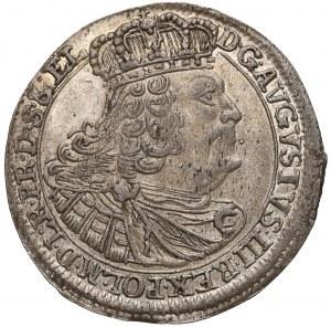 August III Sas, Szóstak Gdańsk 1760 REOE - lustro