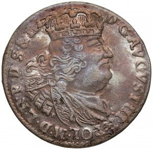 August III Sas, Szóstak Gdańsk 1761 REOE