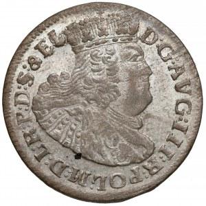 August III Sas, Szóstak Gdańsk 1763 REOE - piękny