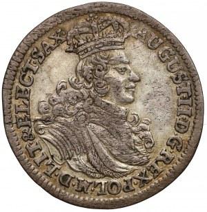 August II Mocny, Szóstak Lipsk 1702 EPH - ładny