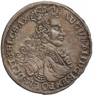 August II Mocny, Szóstak Moskwa 1706 LP - Ludu Płacz - szersze pop.