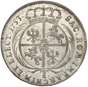 August III Sas, Tymf Lipsk 1753 - T.