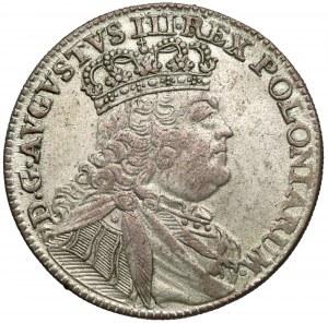 August III Sas, Ort Lipsk 1754 EC - szeroka