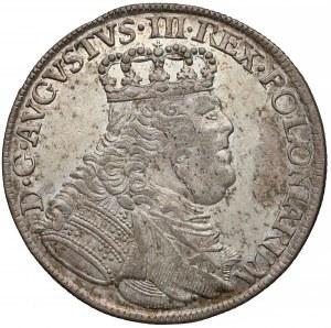 August III Sas, Ort Lipsk 1755 EC - owalny