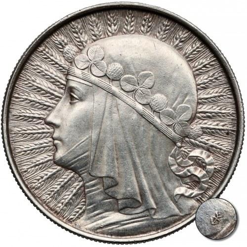 PRÓBA 10 złotych 1932 Głowa Kobiety - GŁĘBOKIE bicie - unikat?