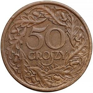 Próba BRĄZ 50 groszy 1938 - rzadkość