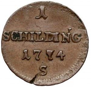 Ks. oświęcimsko-zatorskie, Szeląg Smolnik 1774-S