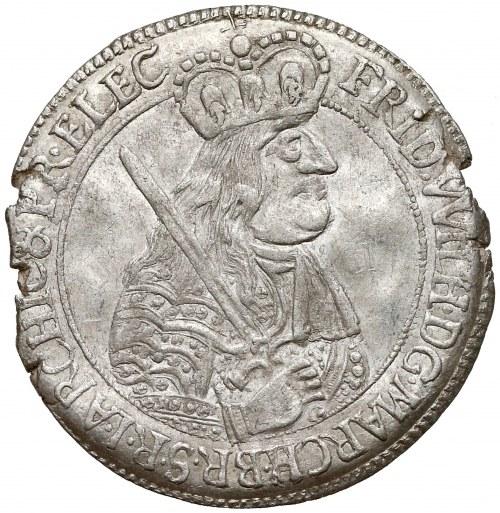 Niemcy, Prusy, Fryderyk Wilhelm, Ort Królewiec 1664 - RZADKI