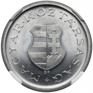 Węgry, 2 forinty 1947 - NGC MS65+
