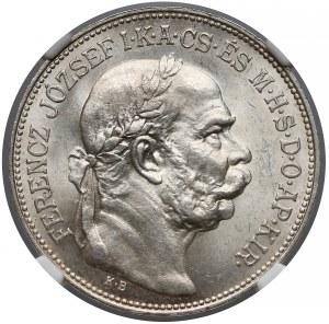 Austro-Węgry, 2 korony 1914 - NGC MS64+