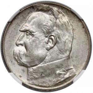 Piłsudski 5 złotych 1935 - NGC MS62