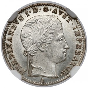Austria, 3 krajcary 1836-A - NGC MS64+