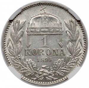 Austro-Węgry, Korona 1895 KB - NGC UNC
