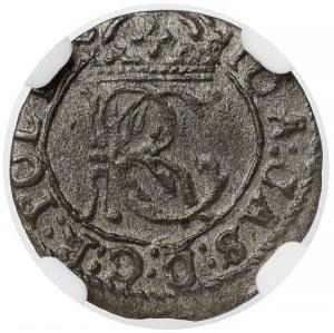 Jan II Kazimierz, Szeląg Wilno 1652 - NGC MS63