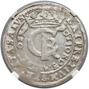Jan II Kazimierz, Tymf Bydgoszcz 1666 AT - NGC MS61