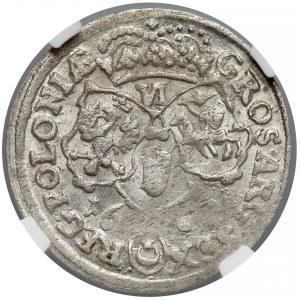 Jan III Sobieski, Szóstak Bydgoszcz 1682 TLB - NGC MS62