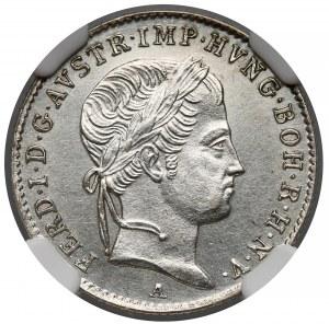 Austria, 5 krajcarów 1837-A - NGC UNC