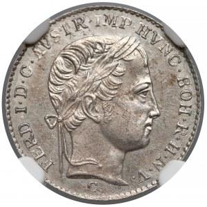 Austria, 3 krajcary 1838-C - NGC UNC