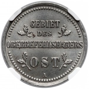 Ober-Ost. 3 kopiejki Berlin 1916-A - NGC MS65