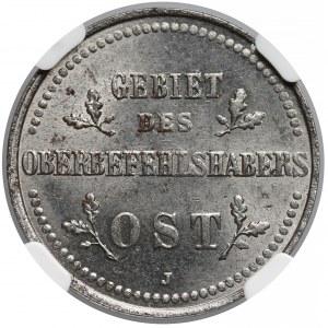 Ober-Ost. 2 kopiejki Hamburg 1916-J - NGC MS63