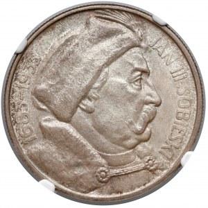 Sobieski 10 złotych 1933 - NGC MS63