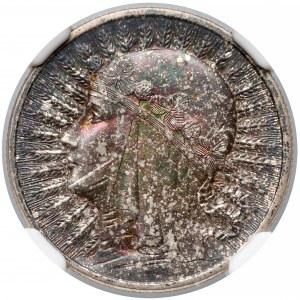 Głowa kobiety 2 złote 1933 - NGC MS63
