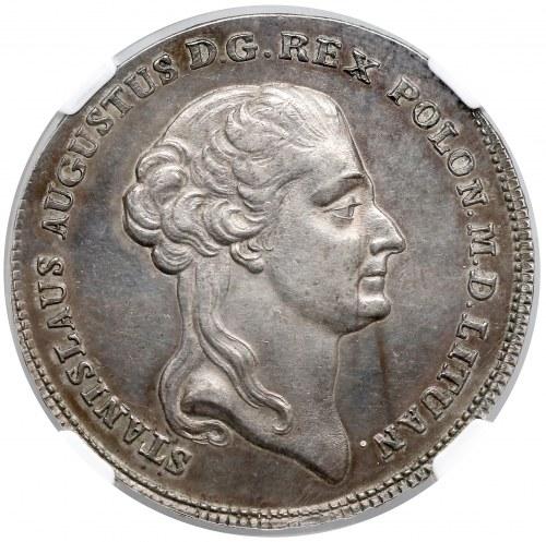 Poniatowski, Talar 1792 M.V. - bardzo ładny - RZADKOŚĆ