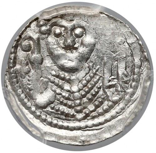 Władysław II Wygnaniec, Denar - Książę i Biskup - rzadki znak