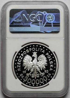 300.000 złotych 1993 Powstanie w Getcie - NGC PF70 UC (MAX)
