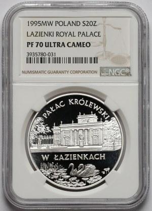 20 złotych 1995 Pałac w Łazienkach - NGC PF70 UC (MAX)