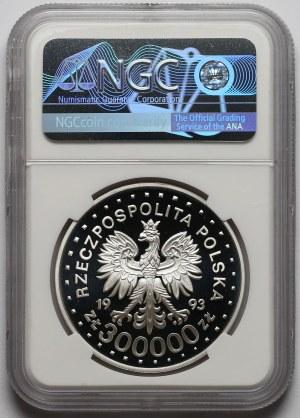 300.000 złotych 1993 Lillehammer - NGC PF70 UC (MAX)