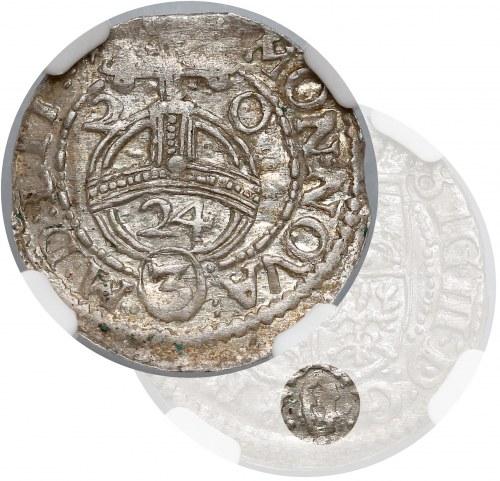 Zygmunt III Waza, Półtorak Wilno 1620 - RZADKOŚĆ - NGC MS61 (R8)