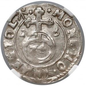 Zygmunt III Waza, Półtorak Kraków 1616 - Awdaniec - NGC AU55