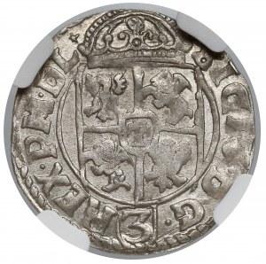 Zygmunt III Waza, Półtorak Kraków 1617 - NGC MS61