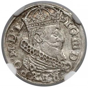 Zygmunt III Waza, Grosz Wilno 1626 - NGC AU58