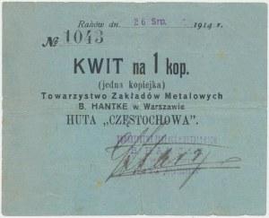 Raków, B. Hantke Huta