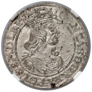 Jan II Kazimierz, Szóstak Kraków 1662 AT - NGC AU55