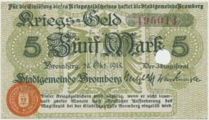 Bromberg (Bydgoszcz), 5 mark 1918