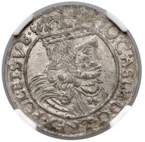 Jan II Kazimierz, Szóstak Lwów 1662 GBA - NGC AU55