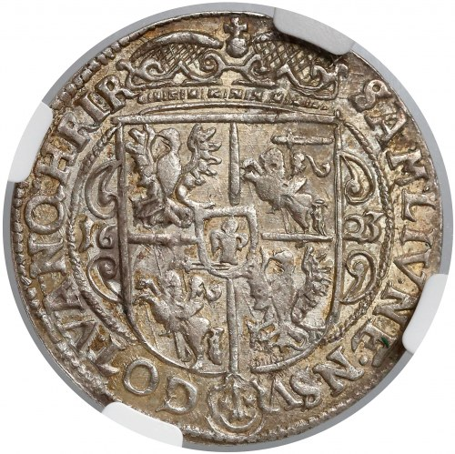 Zygmunt III Waza, Ort Bydgoszcz 1623 - NGC MS62