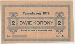 Tarnobrzeg, 2 korony 1919 - blankiet