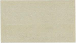 Włocławek, 20 kopiejek 1914 - blankiet