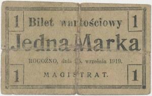 Rogoźno, 1 marka 1919
