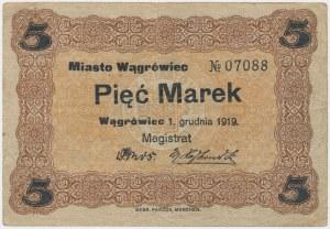 Wągrówiec, 5 marek 1919