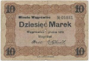 Wągrówiec, 10 marek 1919
